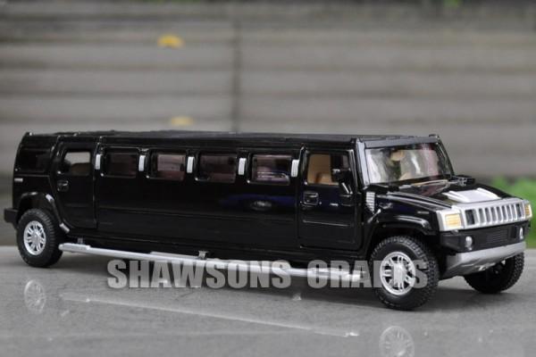 Hummer H2 Limousine 1:32 Alloy Metal
