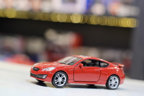 Hyundai Genesis Coupe 1:36 Welly