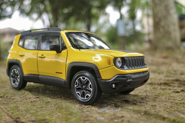 Jeep Renegade Trailhawk 1:24 Welly