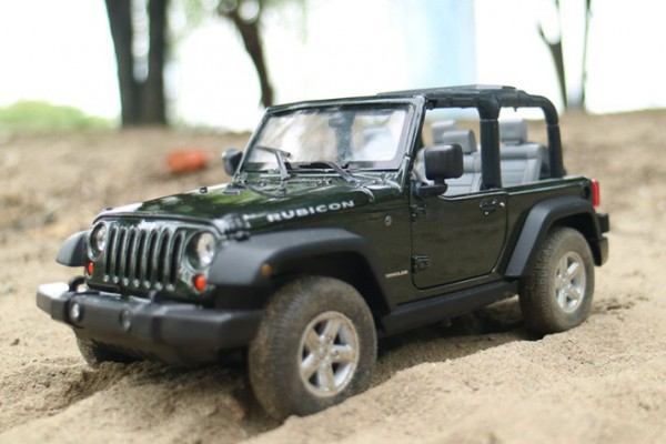 Jeep Wrangler 2007 1:24 Welly