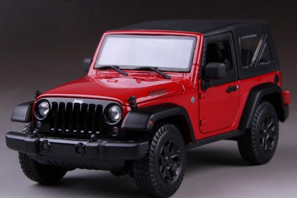 Jeep Wrangler 2014 1:18 Maisto