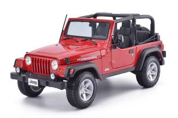 Jeep Wrangler Rubicon 1:18 Maisto