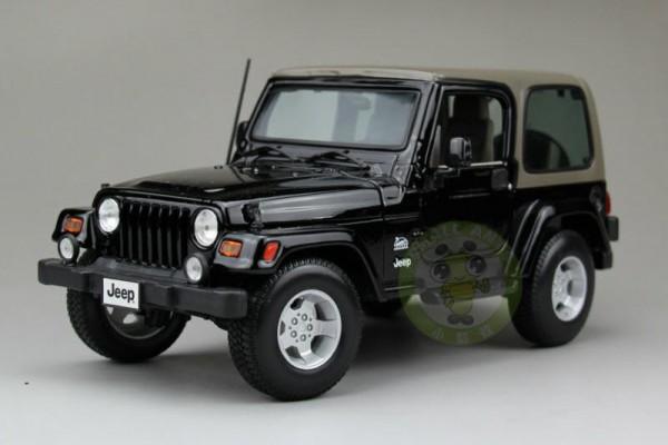 Jeep Wrangler Sahara 1:18 Maisto