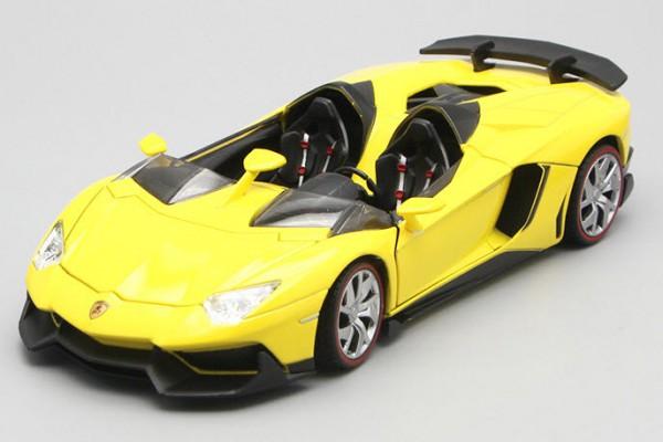 Lamborghini Aventador J 1:24 Double Horses