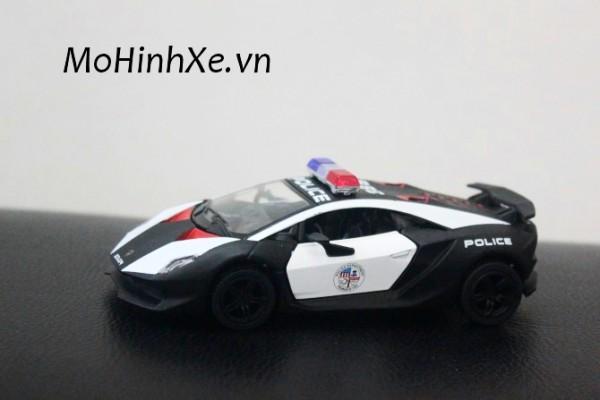 Lamborghini Sesto Elemento Police 1:36 Kinsmart