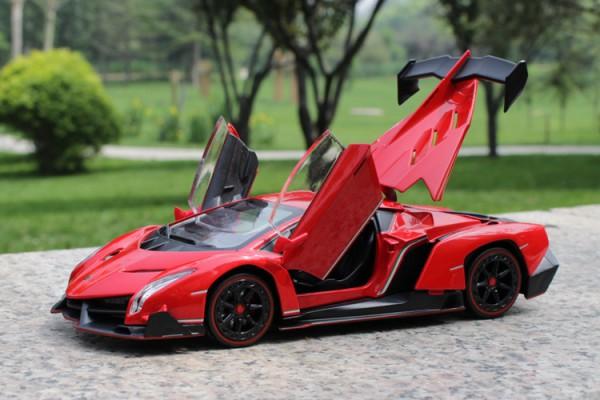 Lamborghini Veneno 1:24 Double Horses