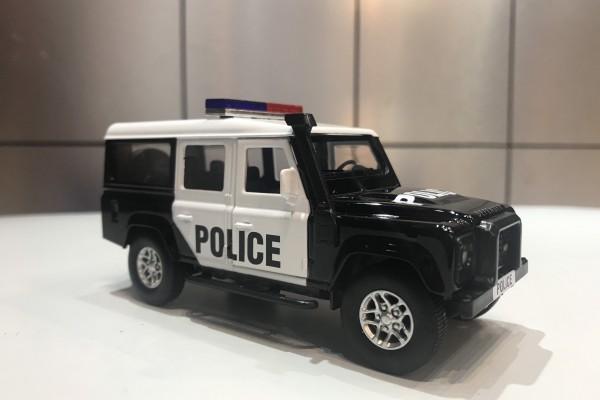 Land Rover Defender Police 1:36 Jackiekim