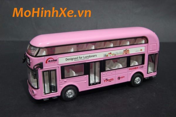 Xe Bus 2 tầng London No.86 1:36 Classic Car