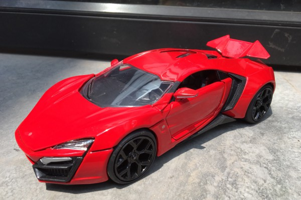 Lykan Hypersport 1:24 Jada