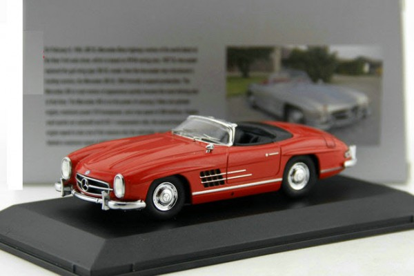 Mercedes-Benz 300SL mui trần 1:43 Dealer