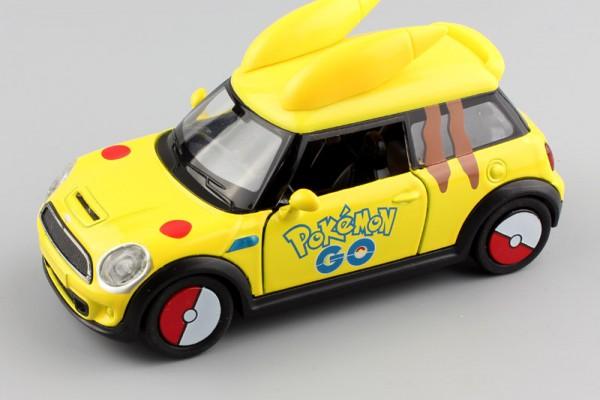 Mini Cooper Pokemon 1:36 Hãng khác