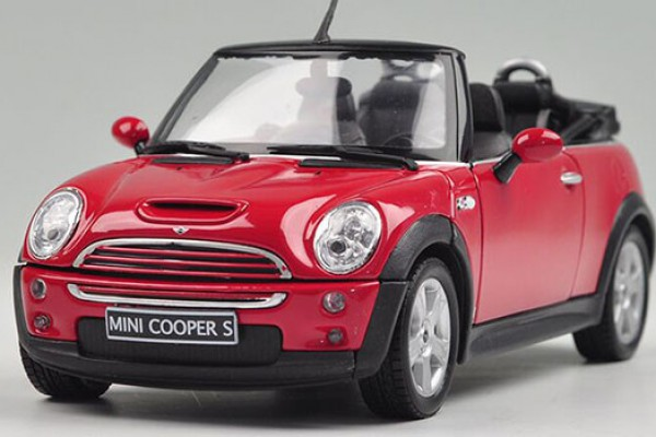 Mini Cooper S Cabrio mui trần 1:24 Welly