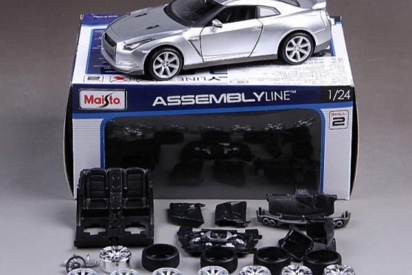Bộ KIT Lắp ghép Nissan GT-R 1:24 Maisto
