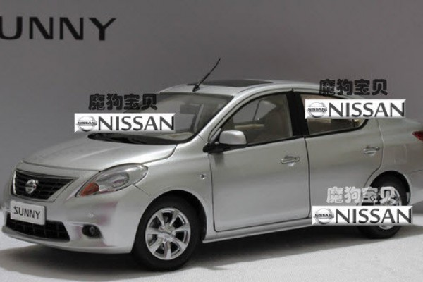 Nissan Sunny 1:18 Paudi