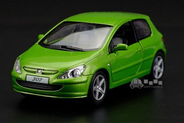 Peugeot 307 XSI 1:36 Kinsmart
