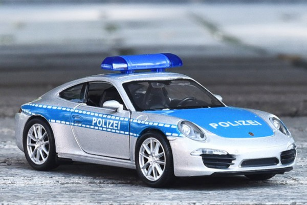 Porsche 911 (991) Carrera S Polizei 1:36 Welly