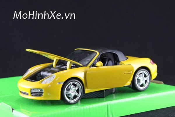 Porsche Boxster S 1:24 Welly
