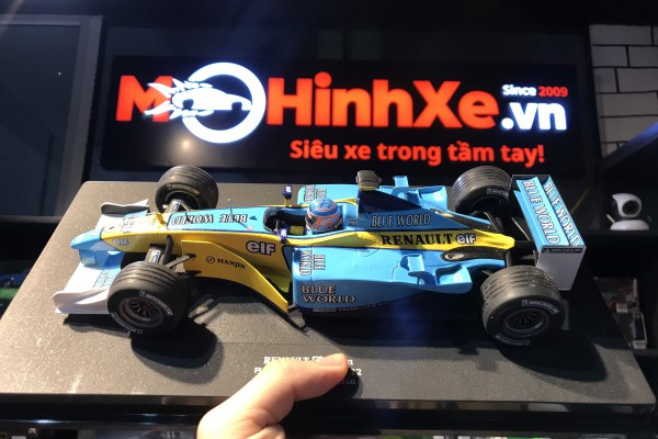 Renault F1 Team Type R 202 Moteur RS 22 1:18 Universal Hobbies