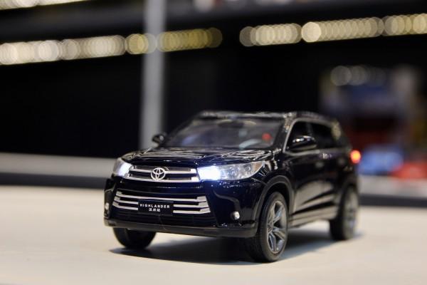 Toyota Highlander 2019 1:32 Jackiekim