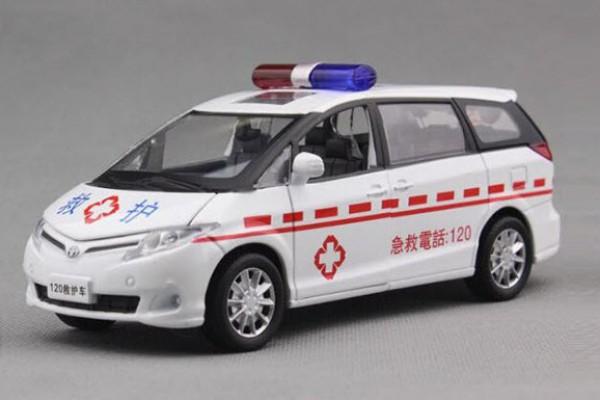 Toyota Previa Cứu thương 1:32 Sheng Hui