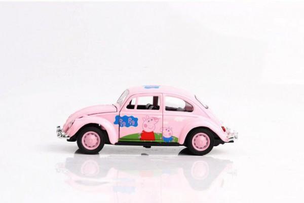 Volkswagen Classic Beetle Peppa Pig 1:36 Hãng khác