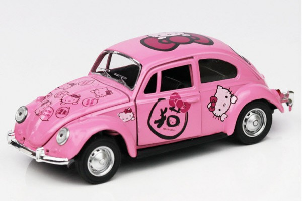 Volkswagen Classic Bettle Hello Kitty 1:36 Hãng khác
