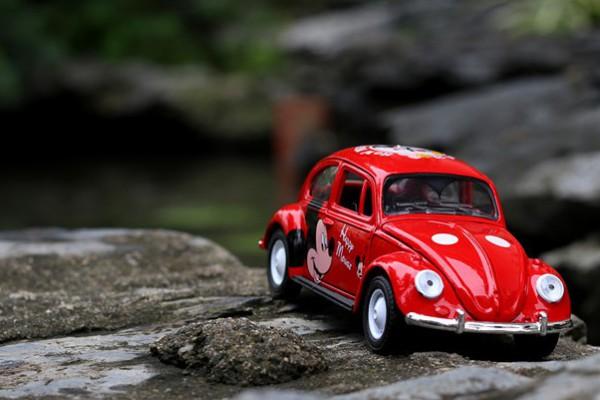 Volkswagen Classic Bettle Mickey 1:36 Hãng khác