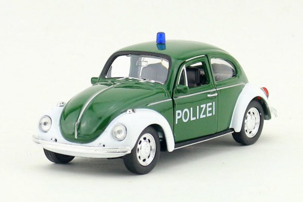 Volkswagen Classic Bettle Polizei 1:36 Welly