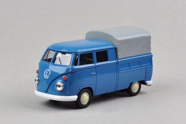 Volkswagen T1 Double Cabin Pick Up 1:36 Welly