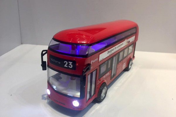 Xe Bus 2 tầng London No.23 1:32 KDW
