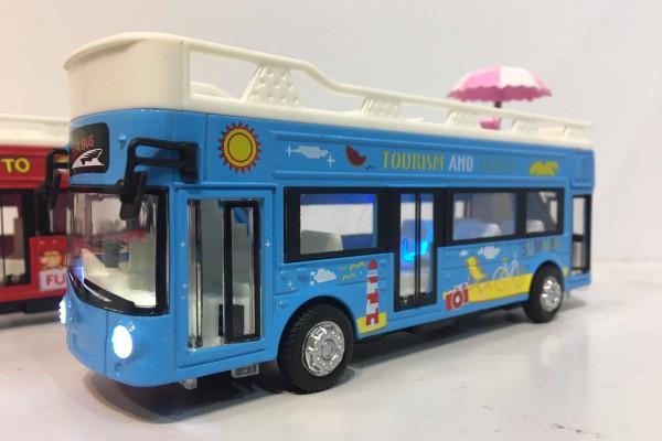 Xe Bus 2 Tầng mui trần 1:36 TY Models