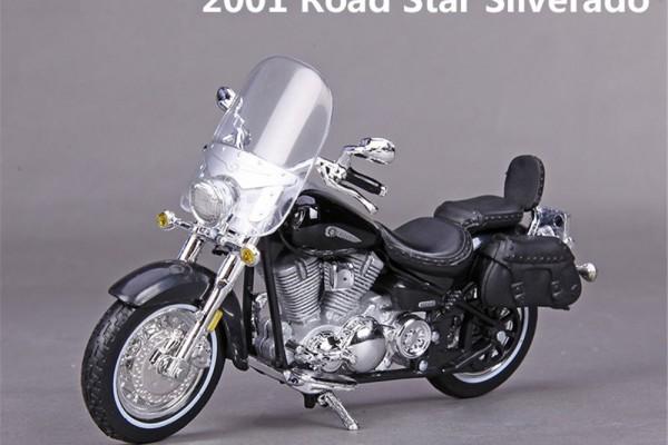 Yamaha 2001 Road Star Silverado 1:18 Maisto