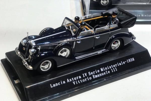 1938 Vittorio Emanuele III - Lancia Astura IV Serie Ministeriale 1:43 Starline