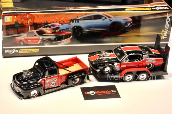 1948 Ford F-1 PickUp + 1967 Ford Mustang 1:24 Maisto