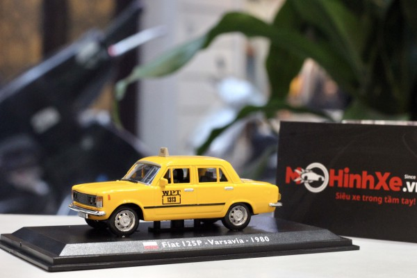 1980 Fiat 125P - Taxi - Varsavia - 1:43 LEO