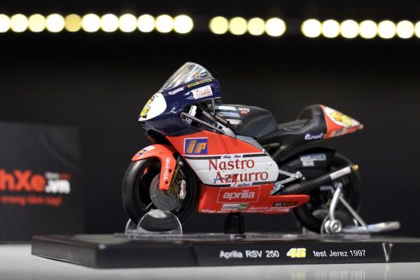 Aprilia RSV 250 No.46 Test Jerez 1997 1:18 LEO