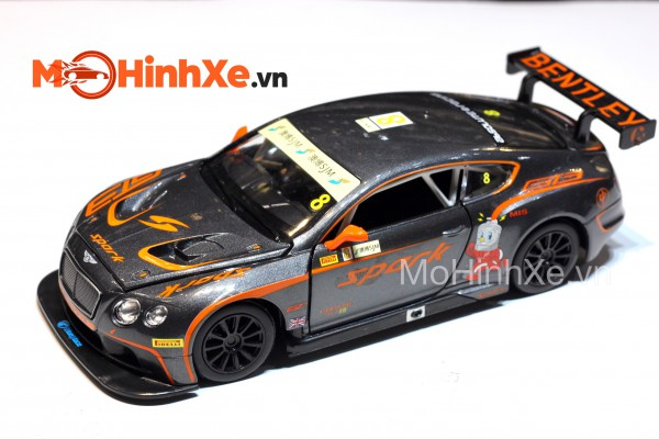 Bentley Continental GT3 No.8 1:24 MSZ