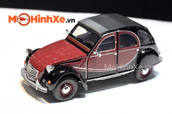 Citroen 2CV 6 Charleston 1:24 Welly