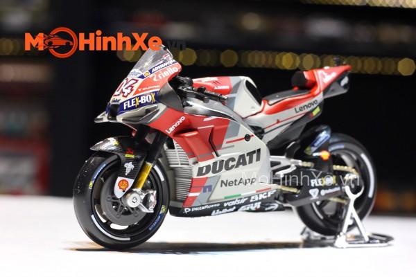 Ducati Desmosedici GP18 No.04 A. Dovizioso 1:18 Maisto