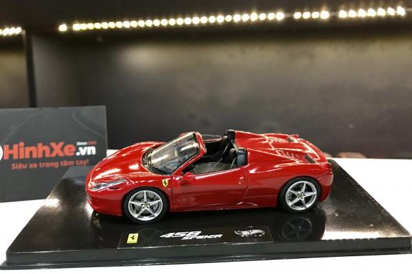 Ferrari 458 Spider 1:43 Hotwheels Elite