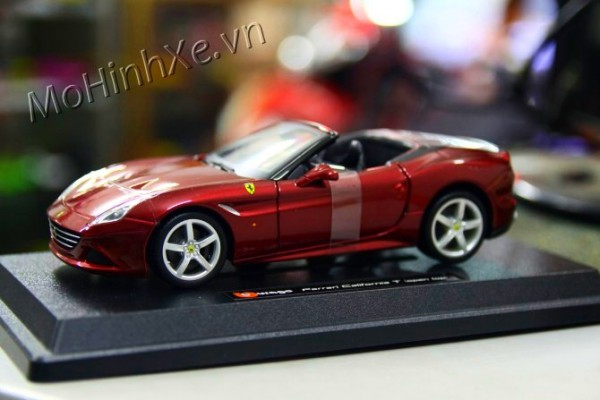 Ferrari California T mui trần 1:24 Bburago