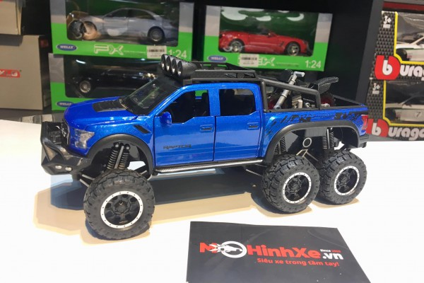 Ford F-150 Beast Raptor 6x6 Off-Road 1:28 Hãng khác