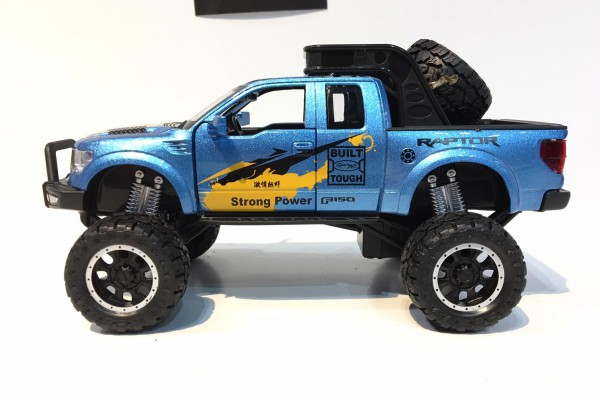 Ford F-150 Raptor 2014 Off-Road 1:32 Double Horses