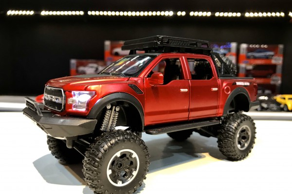 Ford F-150 Raptor Off-Road 2017 4 cửa 1:32 TY Models