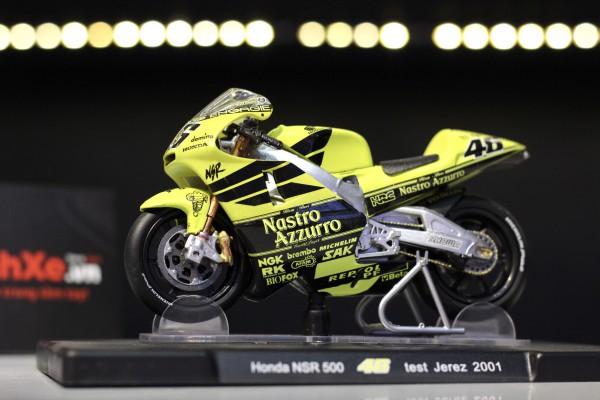 Honda NSR 500 No.46 Test Jerez 2001 1:18 LEO