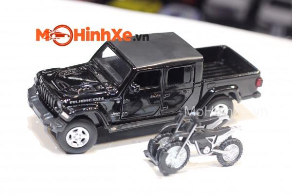 Jeep Gladiator 2020 + Moto 1:32 Jackiekim