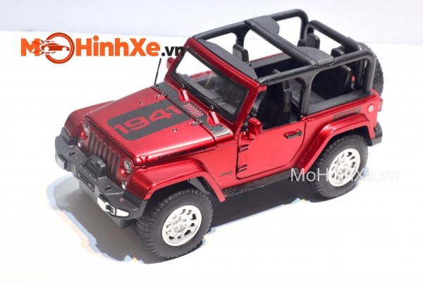 Jeep Wrangler Rubicon 1:32 Double Horses