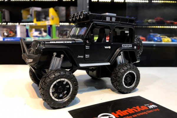 Jeep Wrangler Rubicon Off-Road 1:32 Double Horses