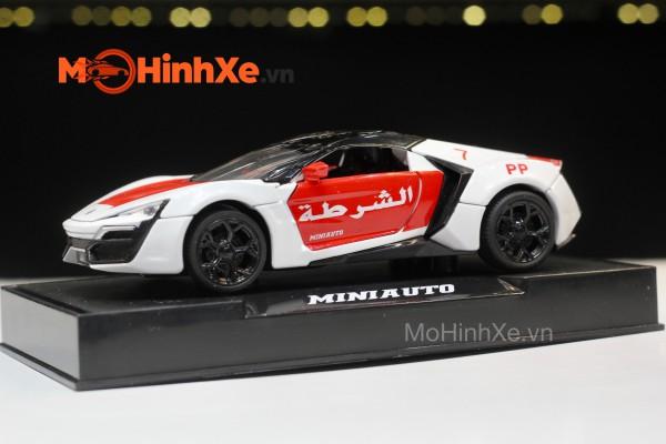 Lykan Hypersport Dubai 1:32 Mini Auto