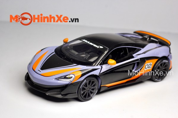 McLaren 600LT Racing No.02 1:32 Uni-Fortune